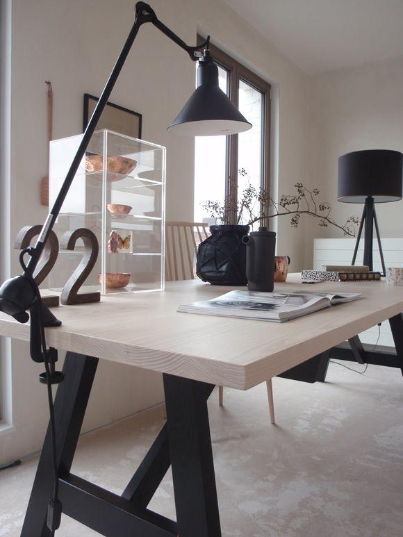 condo office table - A Minimalist Design