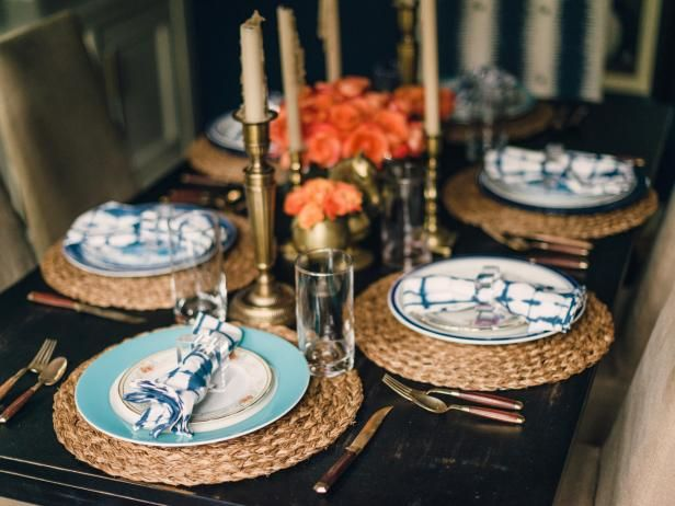 condo table setting ideas