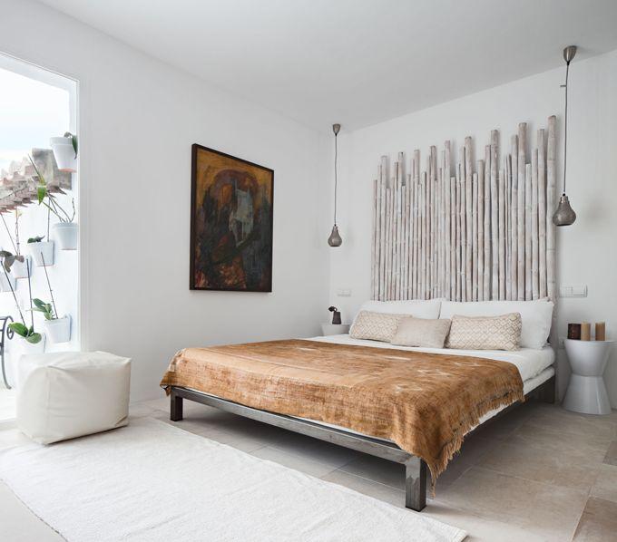 bamboo bed headboard