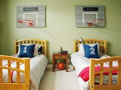 basketball condo headborad