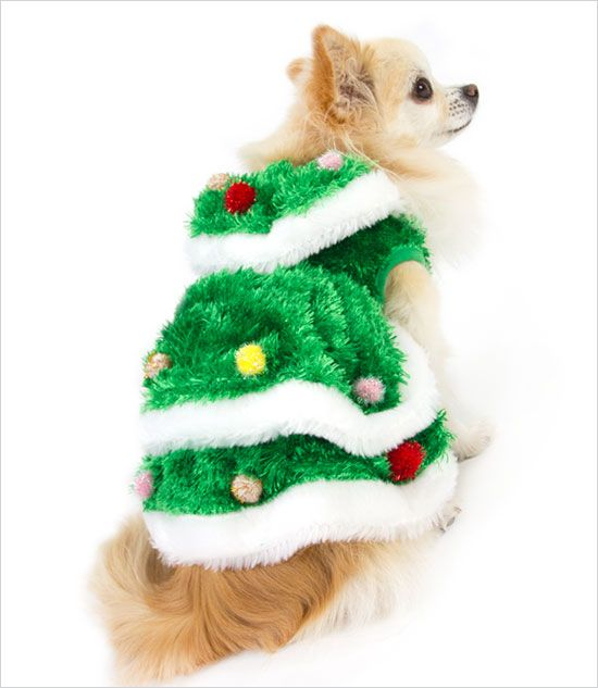 christmas tree gown costume