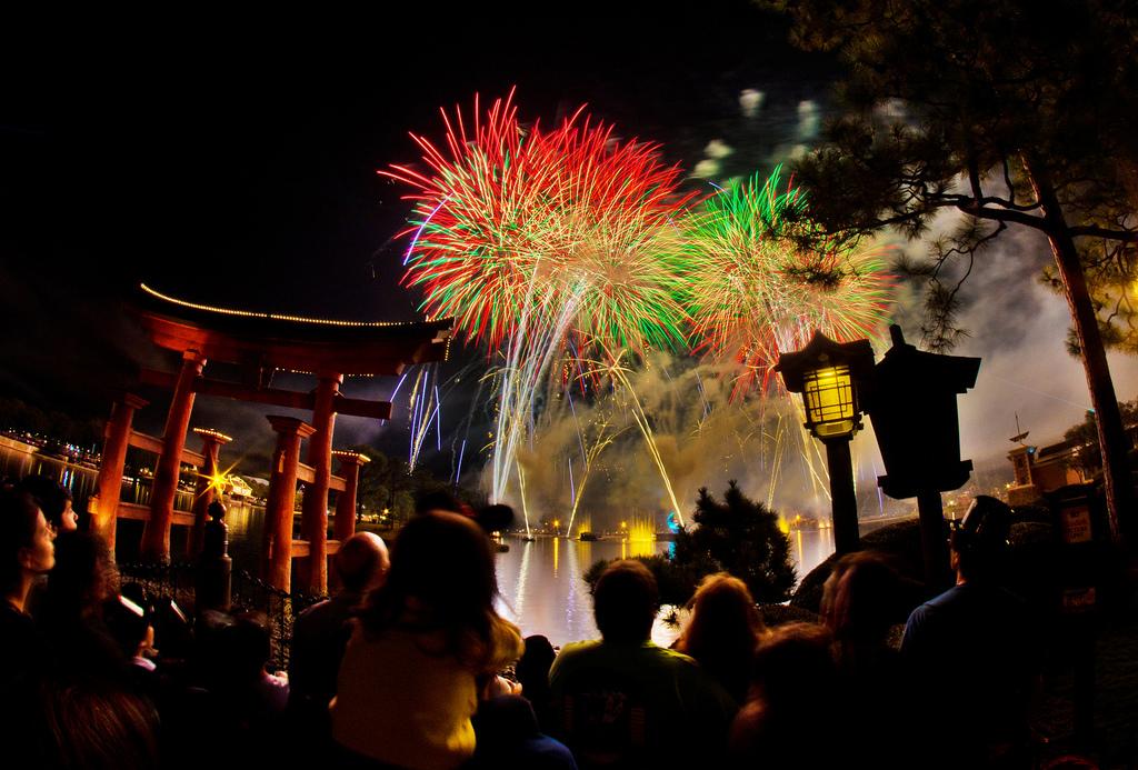 fireworks new year condo