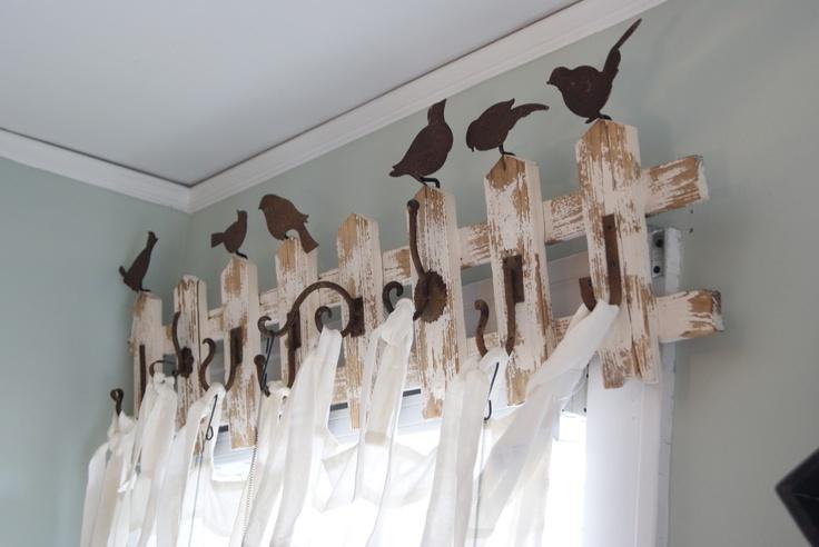 Birds Perching Over The Window