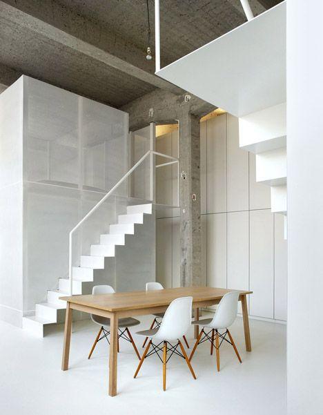 loft condo foyer