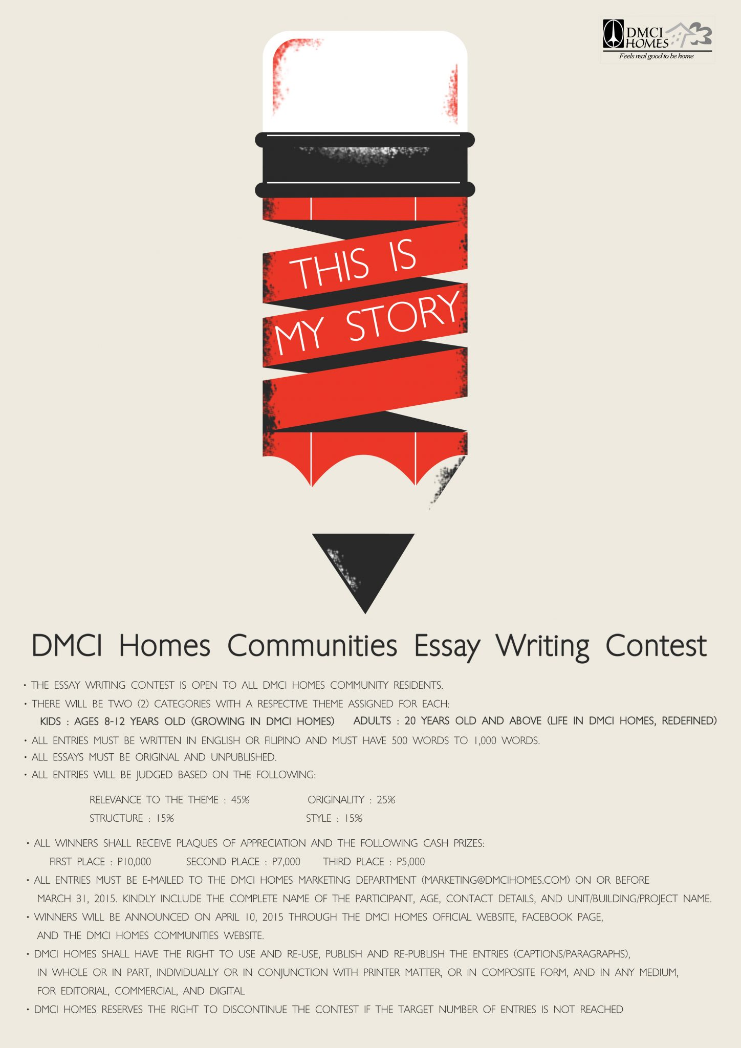 essay writing contest for money