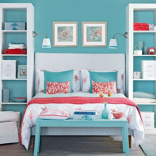 Aqua And Pink Bedroom Ideas: 15 Color Combinations You Should Try In Your Condo