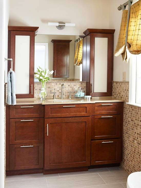 Seven Condo Bathroom Cabinet Renovations