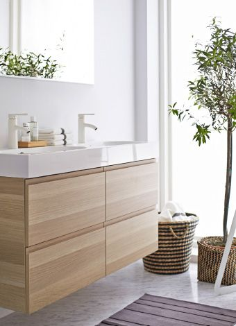 floating bathroom cabinet
