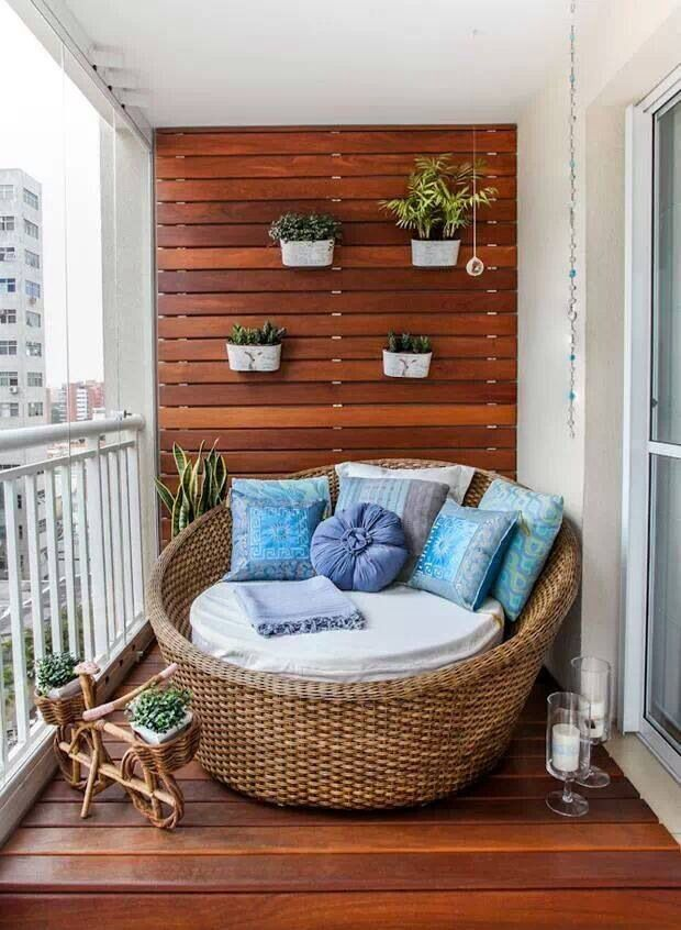 Use your balcony more