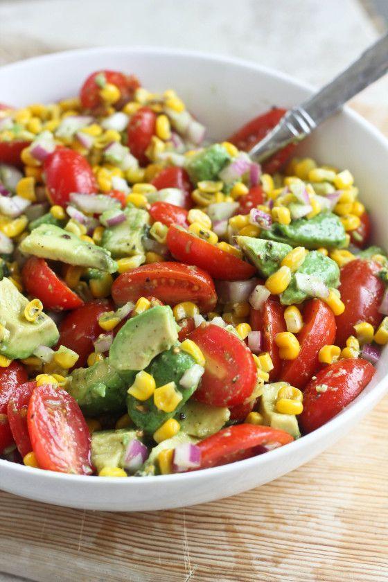 Avocado super salad