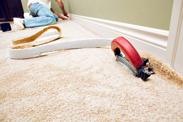 Avoid wall-to-wall carpeting