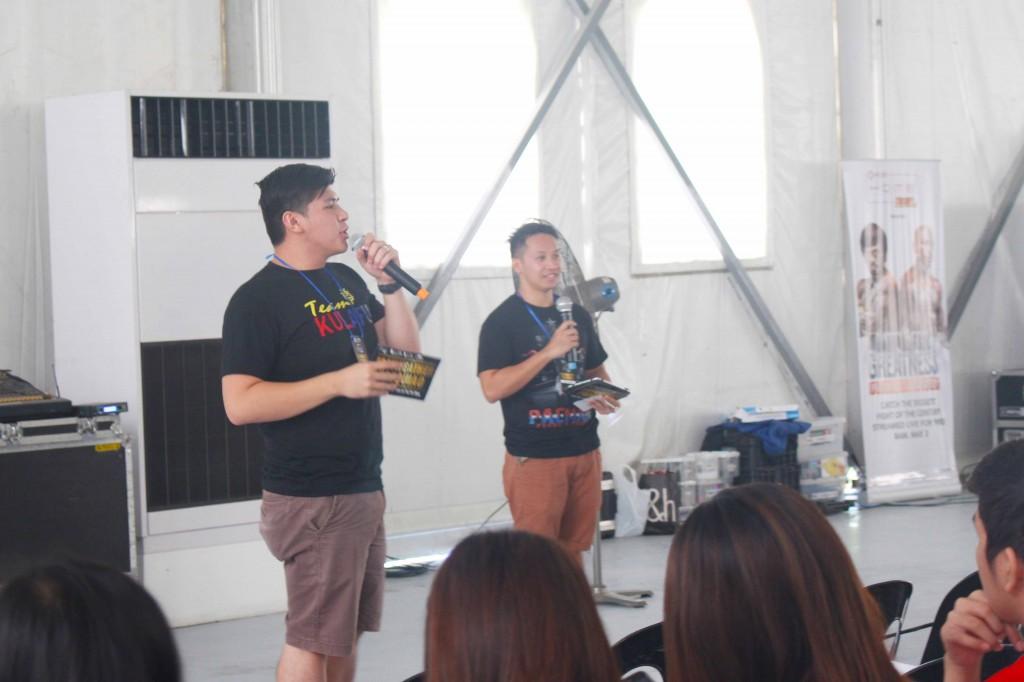 DMCI Homes Marketing Team hosted the event