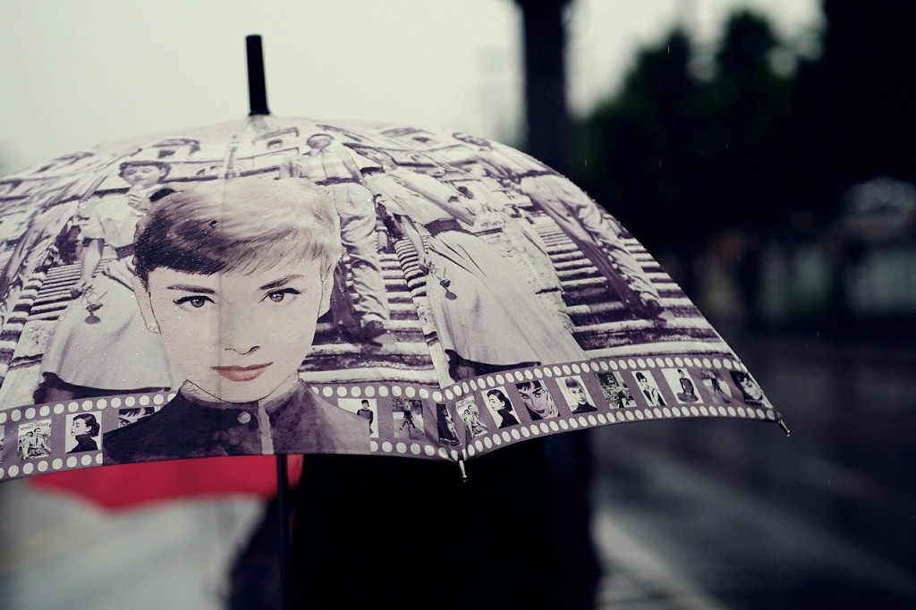 Bring out the trendy umbrella