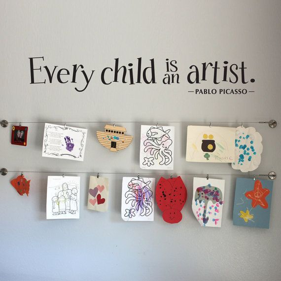 Display Your Kids' Artwork