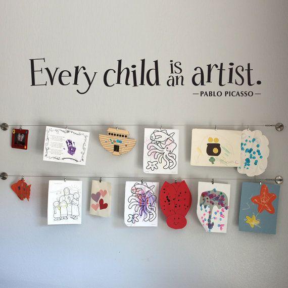 Display Your Kids' Artwork