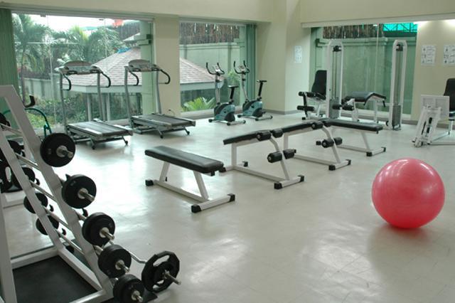 Hit the condo's gym