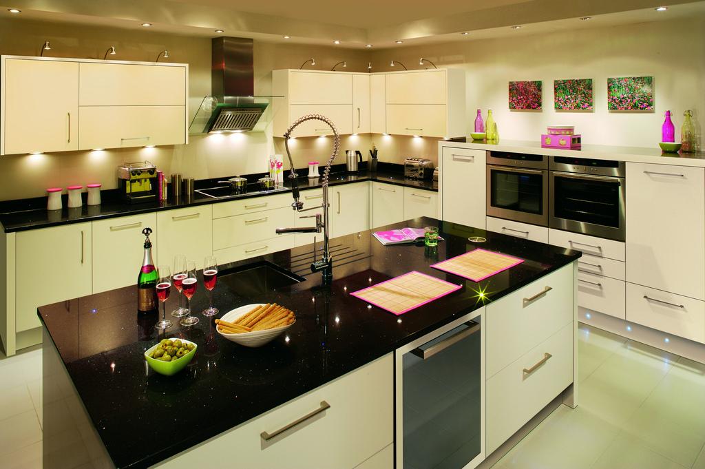 Install a kitchen Island