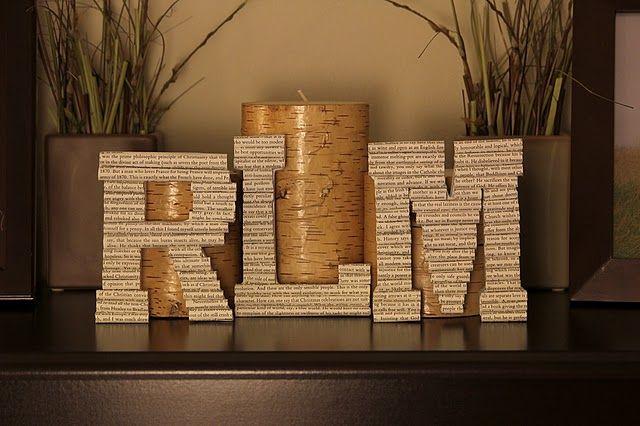 Paper letters