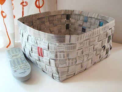 Weaved mini baskets