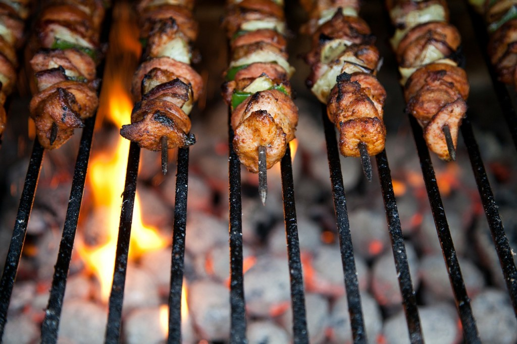 Barbecue weekends at home