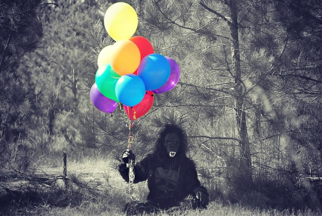 Friendly-neighborhood gorilla