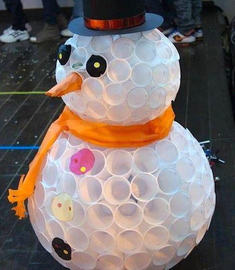 Snowman Papercups