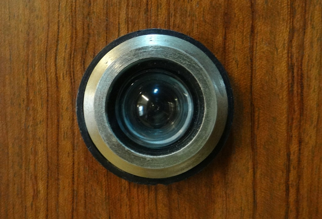 A Peephole for Seeing Guests