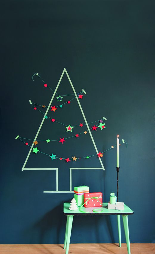 Wishy Washi Christmas Tree