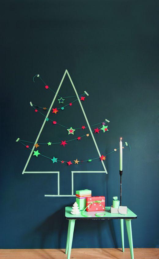 Wishy Washi Christmas Tree