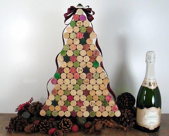 A Corky Christmas Tree