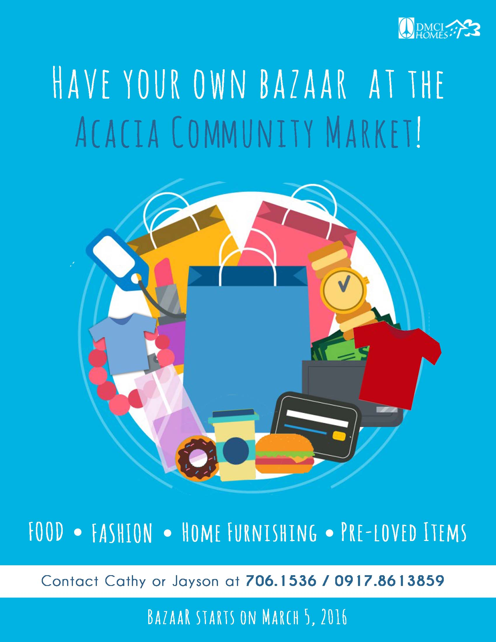 JOIN: Acacia Community Market is open to all start-up entrepreneurs