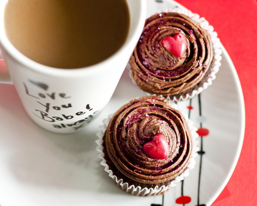 No-bake Chocolate Cupcake