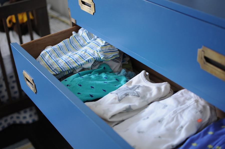 Dresser for Easy Storage
