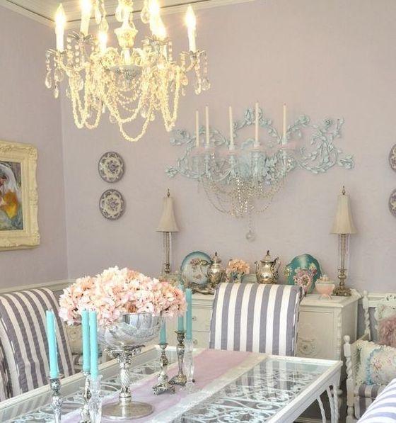 Glamorous chandeliers