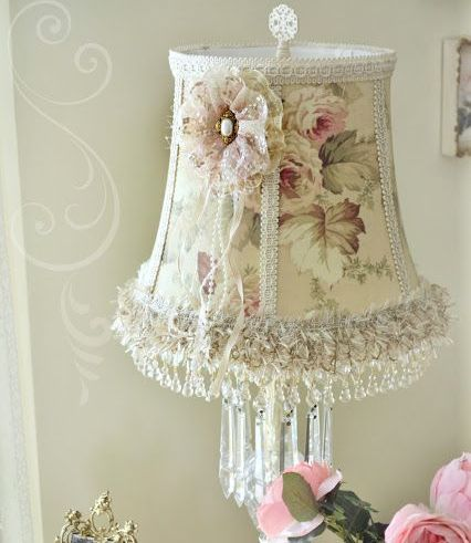 Lacy lampshades