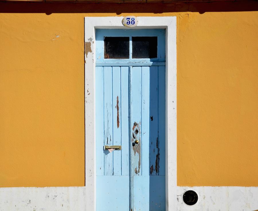 Vintage entryway