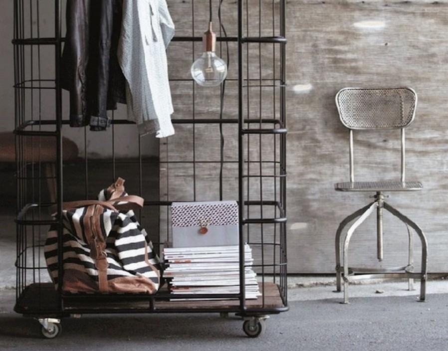 Attractive Rolling Closet