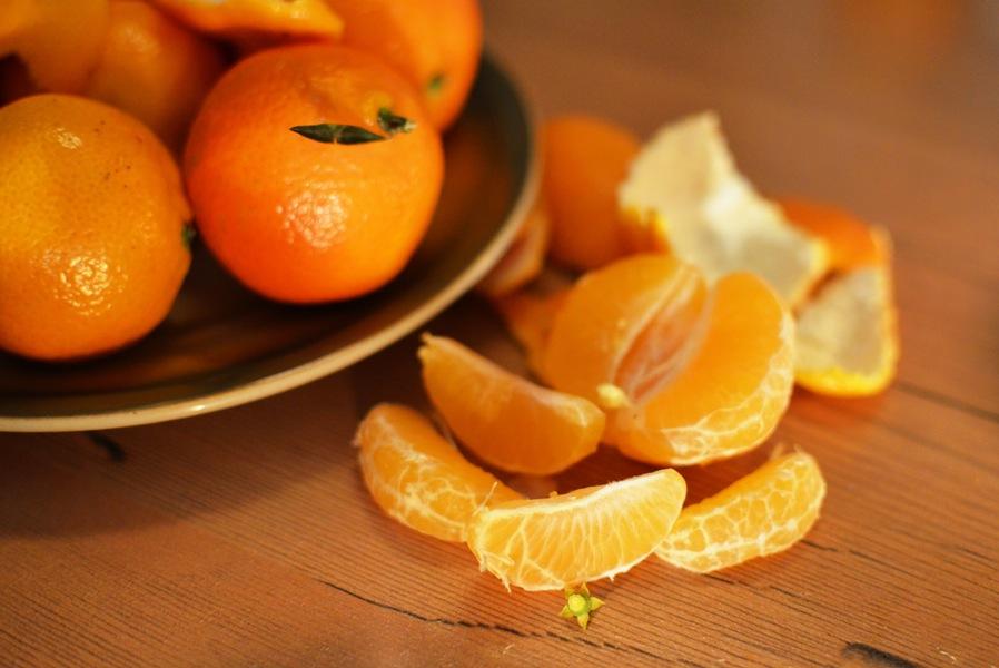 Fruit peels
