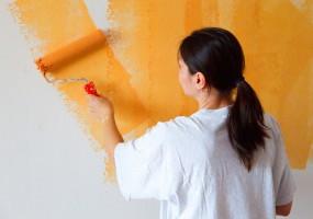 Paint the walls happy