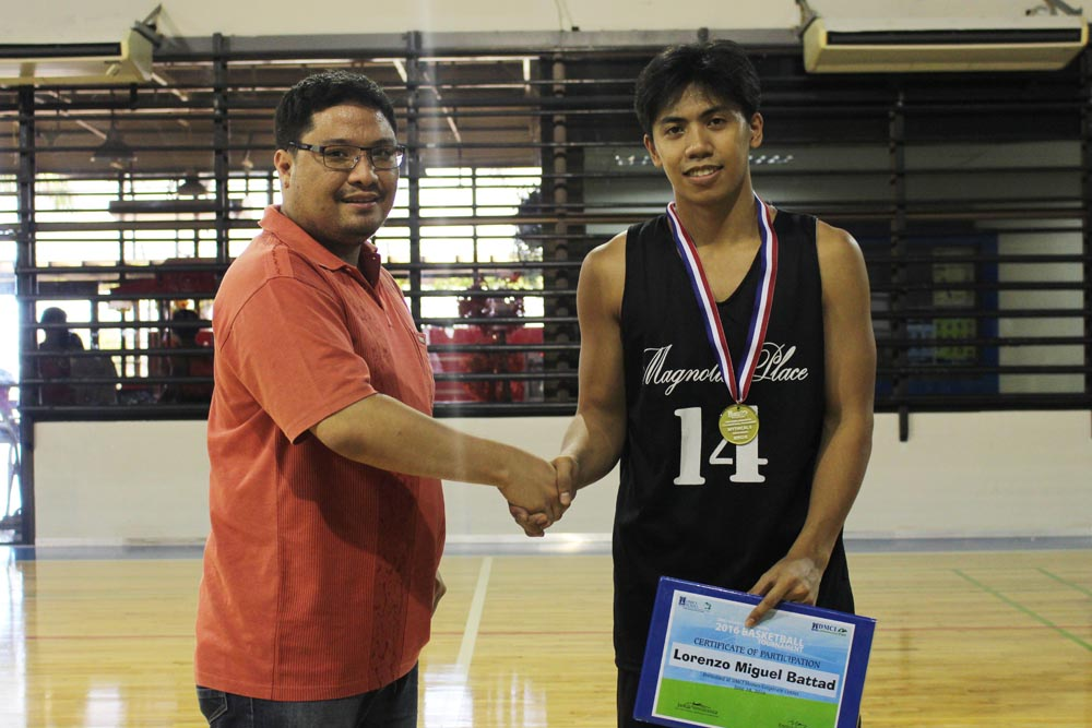 Lorenzo Battad (Magnolia Place)  one of the awardees of the Mythical 5