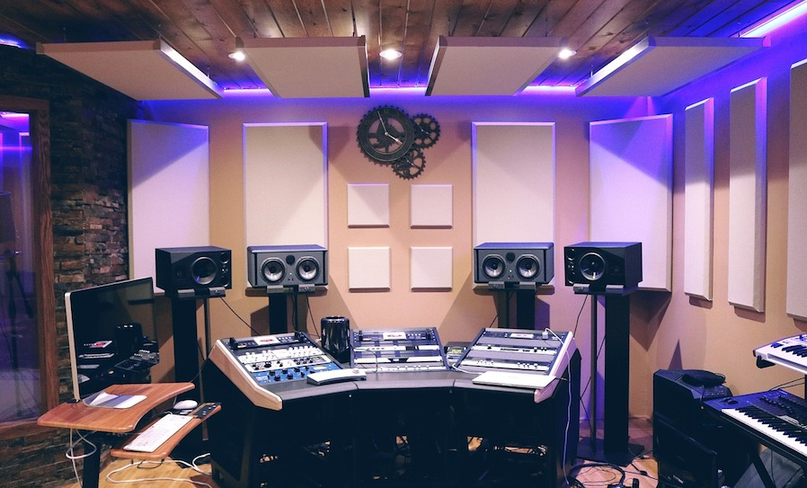 apply acoustic treatment