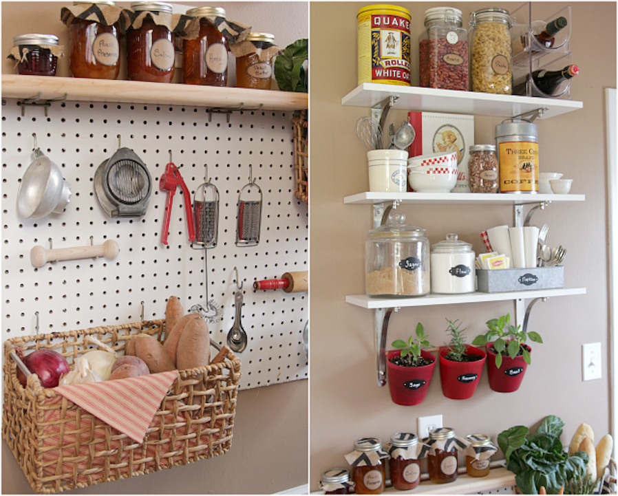 flexible accessible pantry storage