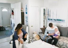 How To Design a Tech-Free Condo Living Room