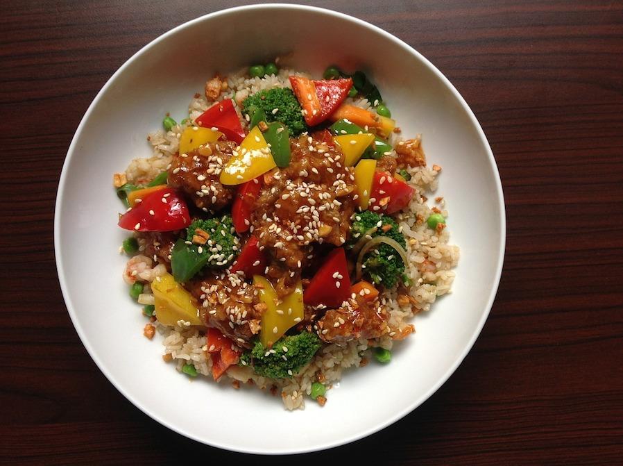 satisfying oriental rice