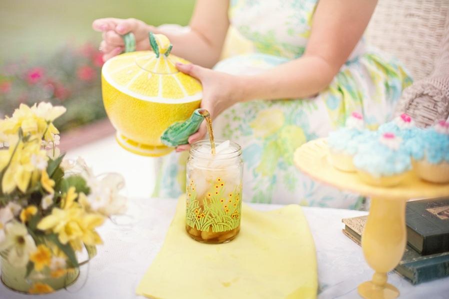 Have a fancy tea party