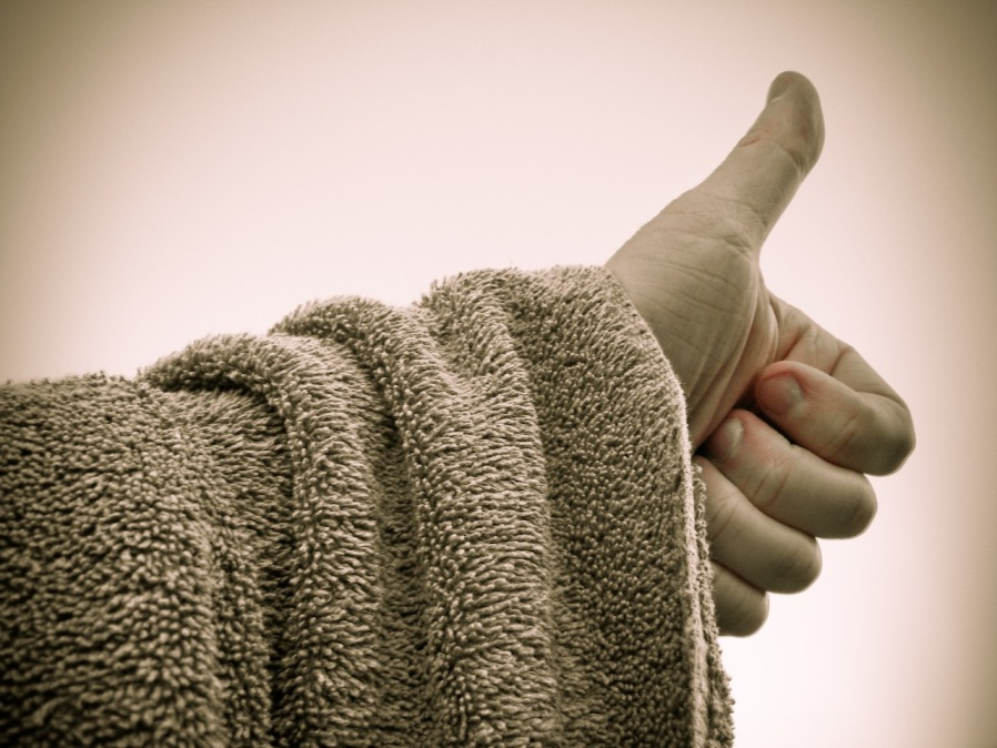 small towel