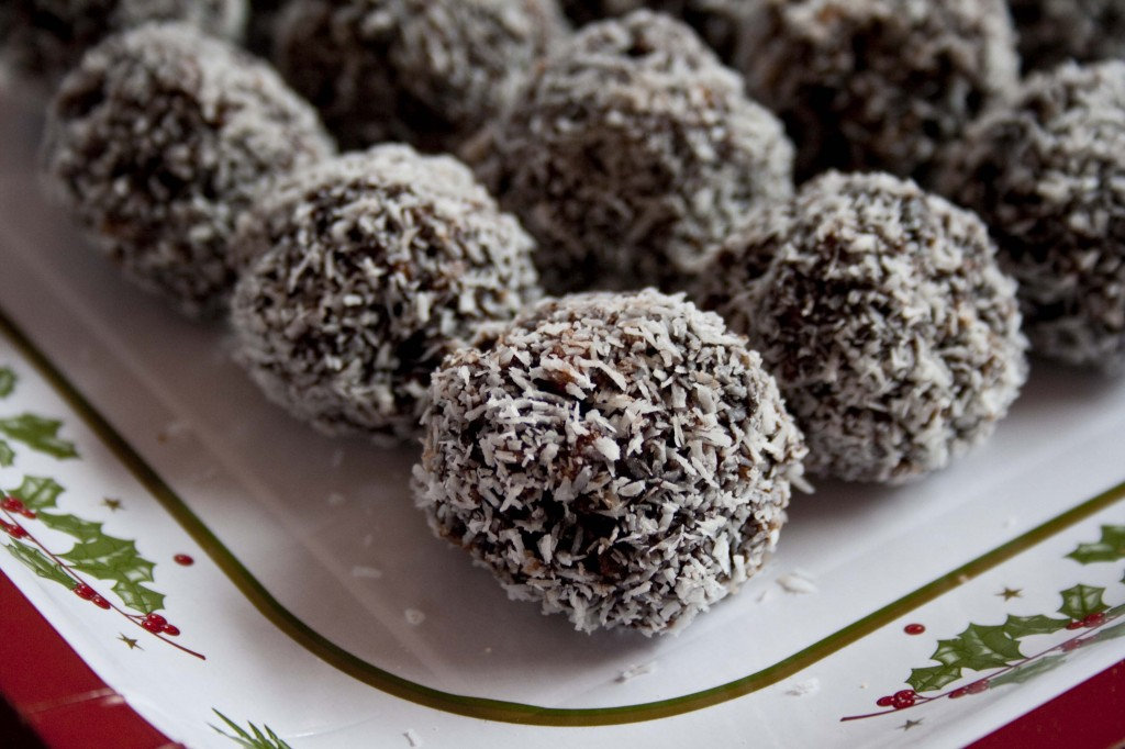 yummy dark chocolate truffles
