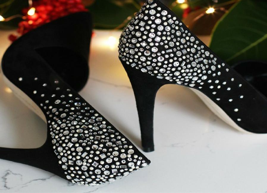 amp those high-heeled shoes