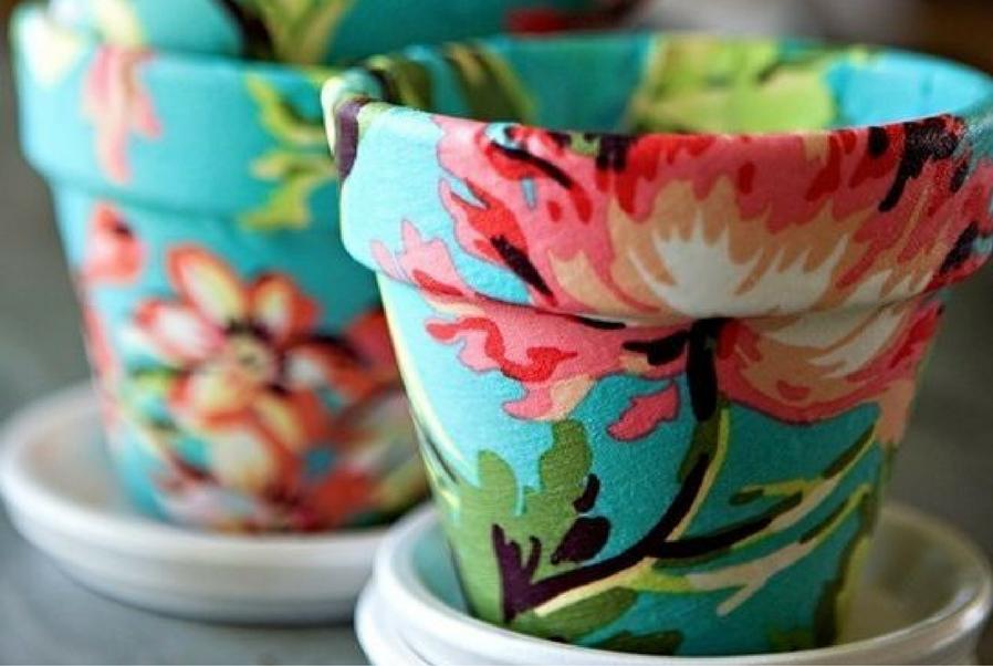 sweet plant pots