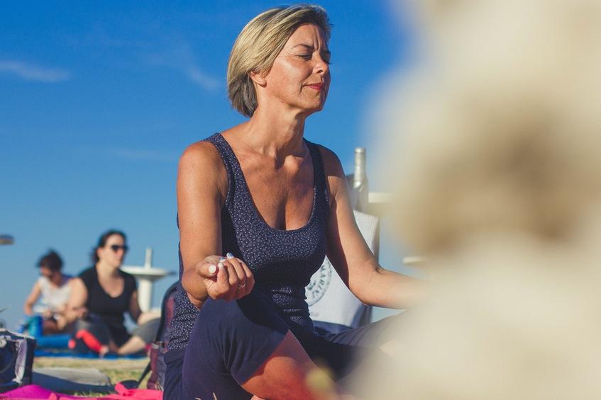 start a yoga group